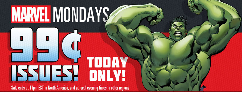 Marvel Monday Sale! Get Select Comics Featuring...